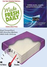 Factory Direct Sale-King/California King 90% Waveless Boyd Waterbed Mattress