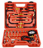 Fuel Injection Pump Pressure Compression Tester Tool Kit Manometer 0 -140psi