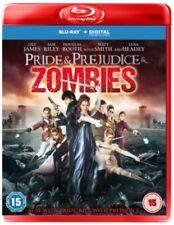 Pride & Prejudice & Zombies BLU-RAY *NEW & SEALED*