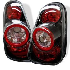 Spyder 5006240 Euro Style Tail Lights Black For 2002-2005 Mini Cooper 2pc NEW