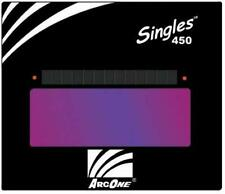 "S450-11 Horizontal Single Auto-Darkening Filter for Welding, 4 x 5"", Shade 11"