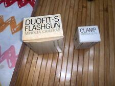 Minolta Duofit-S flashgun  brand new vintage collectable-coming w Minolta clamp