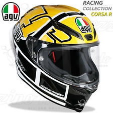 CASCO MOTO INTEGRALE RACING AGV CORSA R TOP VALENTINO ROSSI GOODWOOD YAMAHA 60th