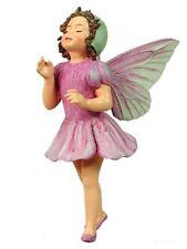 Retired Cicely Mary Barker LILAC Flower Garden Fairy Ornament NIB!