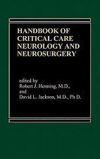 Handbook of Acute Critical Care Neurology by David L. Jackson and Robert J....