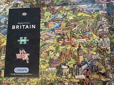 Gibsons Beautiful Britain 1000 Piece Puzzle Bought New By Myself Done Once