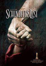 Schindler's List (DVD, 2004)
