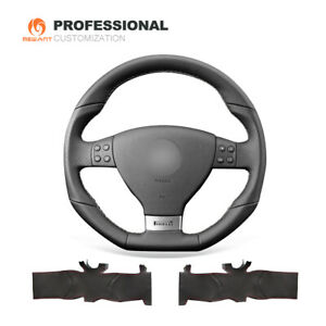 Genuine Leather Car Steering Wheel Cover for VW Golf 5 Mk5 GTI R32 Passat R GT
