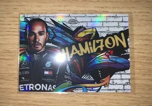 2020 Topps Chrome Formula 1 Track Tags  TT-1 Lewis Hamilton