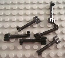 LEGO Lot of 6 Black Long Hinge Lever Pieces