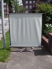 Heimkino Beamer Stativleinwand 119 x 125 cm  Mobile Leinwand