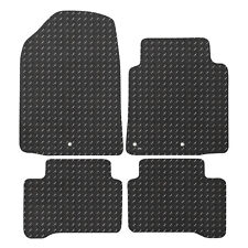 For Hyundai Ioniq 2016+ Fully Tailored 4 Piece Rubber Car Mat Set
