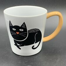 Spring Meow Meow Cat Coffee Mug Black Cat