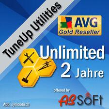 TuneUp Utilities 2017 UNBEGRENZT PC/Geräte AVG Tune Up Performance 2 Jahre DE EU