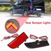 Rear LED Bumper Tail Stop Brake Light For Mercedes W906 Sprinter Vit