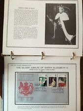 1977 First Day Cover Alubum The Silver Jubilee Of Queen Elizabeth II 25 Covers