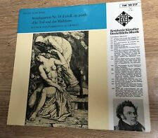 25cm Schubert Streichquartett Nr 14 Wiener Philharmonia-Quartett Swoboda Rumpold
