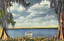 postcard USA  Florida Cypress Gardens   unposted
