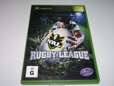 NRL Rugby League XBOX PAL *No Manual*
