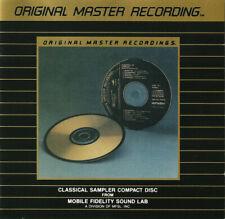 Mobile Fidelity Sound Lab Jazz Sampler JS-1A Ultradisc Gold CD Super Rare