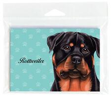 Rottweiler Dog Note Cards Set of 8 with Envelopes
