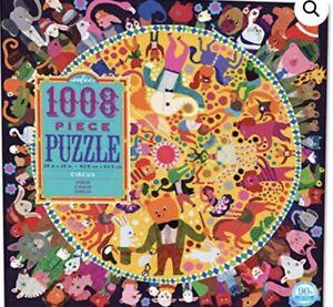 Eeboo 1000 Piece Jigsaw Puzzle Circus