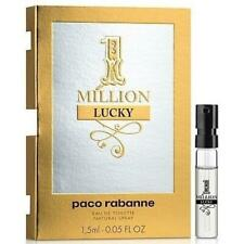 Paco Rabanne 1 Million Lucky EDT 1.5ml Spray Sample Mens Perfume 100% Genuine