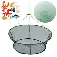 Fishing Bait Trap Crab Net Foldable Shrimp Cast Dip Cage Fish Minnow Hot Sale