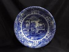 "Spode Italian, England, Blue Scene: Ascot Cereal / Soup Bowl (s), 8 1/8"", NEW"