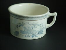 Adamantine China Chamber Pot Semi Porcelain La Belle Pottery Co. C.1888