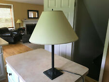 WILLIAMSBURG STYLE VIRGINIA METALCRAFTERS CAST IRON SCALLOP TABLE LAMP