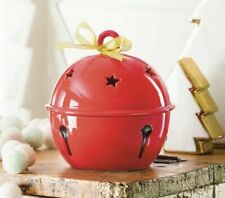 Scentsy SLEIGH BELL Wax Warmer 🎄HTF RETIRED RARE Xmas Holiday Red ~NEW!!