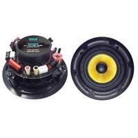 """Pyle Dual 6.5"""" 300W In-Wall / In-Ceiling Hi-Fi Full Range Stereo Speakers   Pair"""