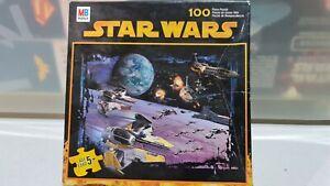 Star Wars Episode 3 Jigsaw Puzzle 100 Piece by Milton Bradley Hasbro Made In USA