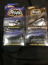 Batmobile 1:50 Lot 1966 Animated Tumbler Batcycle The Dark Knight Batman Tv