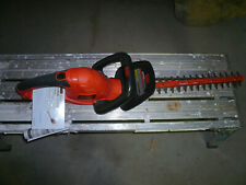 BLACK+DECKER 20 in. 3.8-Amp Corded Electric Hedge Trimmer (Open Box)