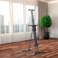 Vertical Climber Stepper Fitness Climbing Machine Cardio Exercise Equipment
