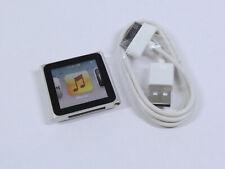 Apple Ipod Nano 8GB 6th Gen de generación Plateado MP3 Garantía