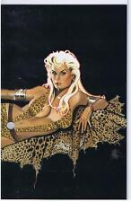 Sheena Queen of the Jungle Return of the Jaguar Men Part 2 Virgin Cover