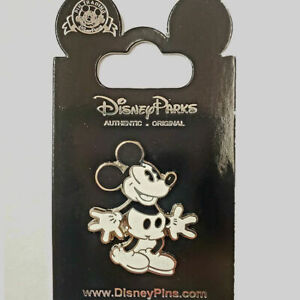 MICKEY MOUSE  - BLACK & WHITE STYLE - COLLECTIBLE PIN - BRAND NEW - DISNEY HP606