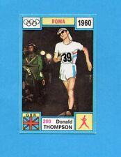 OLYMPIA-1972-PANINI-Figurina DA INCOLLARE! n.200- THOMPSON - GBR -Rec