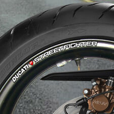 DUCATI STREETFIGHTER WHEEL RIM STICKERS 1100 S NEW B