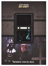 Star Wars Jedi Legacy DFR-4 Double Film Cel Relic Card Luke Vader ESB
