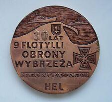 POLISH POLAND ARMY NAVY MARINE COAST DEFENSE FLOTILLA MEDAL