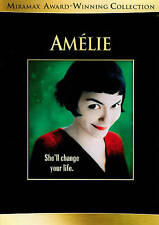 Amelie (Dvd, 2011, 2-Disc Set) Pre - Owned
