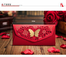 Chinese Butterfly Wedding Red Envelopes--4 pcs