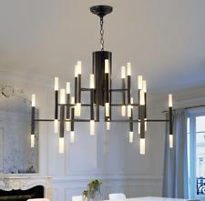 Glass Branch Chandelier Metal Pendant Light Industrial Ceiling Fixtures Modern