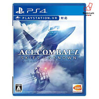 NEW PS4 ACE COMBAT? 7: SKIES UNKNOWN PlayStation 4 import Japan F/S Tracking
