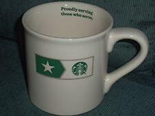 Starbucks 2013 July 4th Coffee Mug 14oz Made in Ohio Never Used EC
