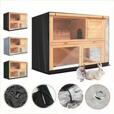 210D Oxford Rabbit Hutch Cover Double-layer Rabbit Cage Dust Cover Pet Dog Cage